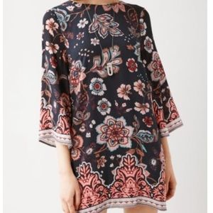 Urban Outfitters Printed Shift Dress